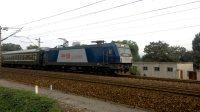 (司机鸣笛)火车K269次,HXD3C牵引25G。