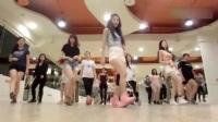 最近流行的舞蹈seve,美女教学,一学就会!