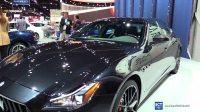 2017 洛杉矶车展实拍 玛莎拉蒂 总裁 Quattroporte GTS GranSport