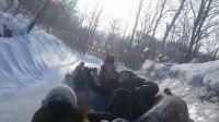 冬趣戏雪太平山老虎洞