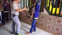 【win 迷你Vlog 】蛇庙蟒蛇吓坏印度小哥 058