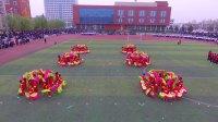 2018年辛寨镇春季田径运动会辛龙幼儿园扇子舞《欢天喜地》