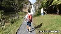 森林中的瀑布, 奥克兰, 新西兰
