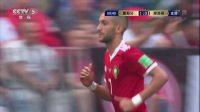 6月20日五大过人:摩洛哥配合对手撕破防线 齐耶赫禁区打门被佩佩挡出