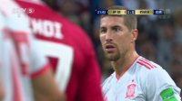 【世界杯英雄传】伊朗VS西班牙 西班牙队拉莫斯
