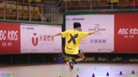2018 全国轮滑锦标赛 自由式轮滑 Battle 成年男子 决赛 张颢 张黎峰 郑家明 王子康