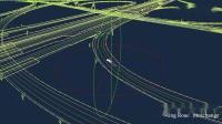 四维图新自动驾驶高精度地图数据展示
