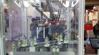 HEPCO海普克磁驱环形轨道用于酒瓶贴标检测