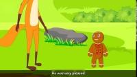 【原版英语童话故事 】姜饼人的故事 The Gingerbread Man Story- English fairytale - English stories