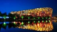【北京风光05】鸟巢  水立方 (国家奥林匹克公园夜景)