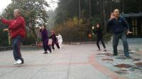 娄底市珠山公园北门太极拳2019.12.15