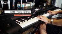 KORG KROSS合成器工作站钢琴叠加弦乐音色演示