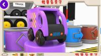 着色街头车辆玩具-儿童玩具车