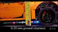 保时捷 911 GT3 动态悬架演示 Lego Technic 42056