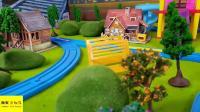 托马斯小火车故事 托马斯送玩具蛋 超级飞侠