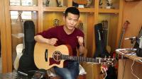 朱丽叶吉他评测<X-16>全单吉他测评指弹吉他弹唱