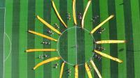 """青岛为明学校中学部""""走进敦煌""""主题运动会年级展示《千年之约》--六年级"""