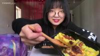 【梦游吃播】低脂清油日式鳗鱼饭、泰皇菠萝虾饭、西班牙海鲜饭、星空白巧芝士慕斯蛋糕 3、剪话版 4倍速