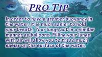超详细游泳教程  如何在水中悬浮  看完这个不用担心不会游泳了