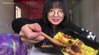 【梦游吃播】低脂清油日式鳗鱼饭、泰皇菠萝虾饭、西班牙海鲜饭、星空白巧芝士慕斯蛋糕 2、剪话版 2倍速
