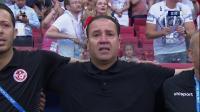 【花絮】现场奏响突尼斯国歌 主教练马鲁勒激动落泪