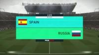 巴打Brother 实况足球2018解说 世界杯18决赛 西班牙vs俄罗斯