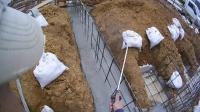 DIYで家をつくる #8/布基礎ベースコンクリート打設