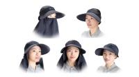 【环保再生纺织品】环保百变遮阳帽