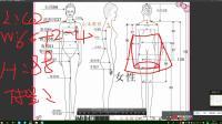 471-职业套装女短袖小西装包裙打版教程 1