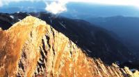 唐松岳 长野北阿尔卑斯群山航拍