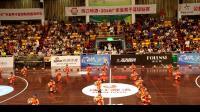 鼎湖逸夫小学为2018广东省男子篮球联赛加油