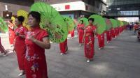 德惠健身操协会旗袍协会参加住邦活动