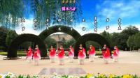 兰州蝶恋舞蹈队:9人团队版古典大扇舞《弱水三千》