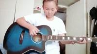 学吉他第二天,自创曲目😂B612Kaji_20180723_125453_226