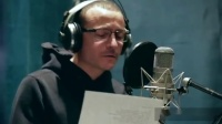 LPCC160722Chester bennington recording vocals in the studio
