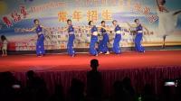 肖老师与成人班学员表演傣族舞蹈《月亮》