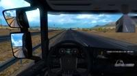 【美国卡车模拟】在美国用斯堪尼亚拉了三节车厢-P1