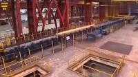 日本钢铁工厂实拍,自动化程度真不是吹的,厂里没几个工人