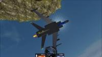 【简单飞机】第一次造前掠翼飞机居然成功了