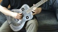Republic Guitars丽声吉他演奏分享 Amistar singlecone resonator guitar! Open C tuning.
