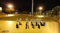 《爱我中华》变队形广场舞,叶子舞蹈队2018-8-16