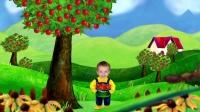 动物吃蔬菜水果变色游戏 认识动物颜色 学习英语  婴幼儿早教益智动画玩具英语启蒙