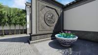 唐语中式院落设计