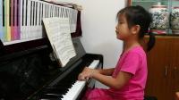 萱萱弹钢琴曲《农民舞曲》