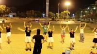 《爱我中华》变队形广场舞,叶子舞蹈队2018-8-18