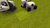 迷你世界 搞笑熊猫