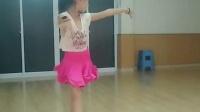 福州群星拉丁舞培训中心初级班女生伦巴舞展示-福州最专业的拉丁基本功教学方式,福州的品牌舞蹈机构