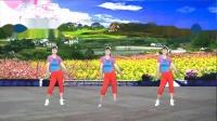 湖北汉川秀秀广场舞(丽萍美体健身操第一套第三节)3人