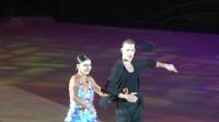2018届黑池舞蹈节(中国)表演舞恰恰Troels Bager&Ina Jeliazkaova