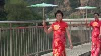 天津红鼎盛世旗袍协会盘山旗袍走秀----游玩江湖视点